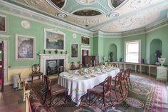 Saltram House ~ Devon - Robert Adam interior