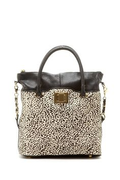 Kelsi Dagger Convertible Tote: a little animal print never hurts!