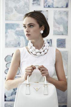 #Prada S/S 2012 - more lusciousness at http://mylusciouslife.com/a-ladylike-life/