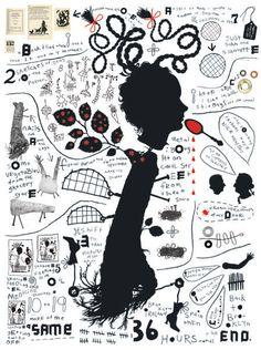 Melinda Beck : Kilkenny County Council . Illustrating Illustration . poster illustration