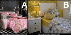 It's You Choose Tuesday! Today we're asking you to choose between these two bedroom styles. Which do you prefer, A or B?
