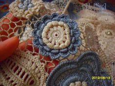 Irish crochet- i have crochet hearts to put together. this will help =)