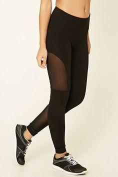 Forever21 Active Mesh-Paneled Leggings Found on my new favorite app Dote Shopping #DoteApp #Shopping