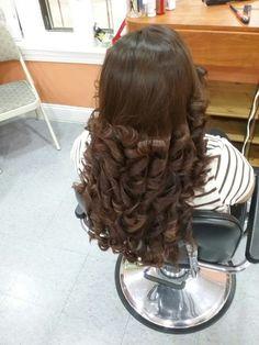 #QuickHairstyleTutorials Quick Hairstyles, Everyday Hairstyles, Curled Hairstyles, Pretty Hairstyles, Layered Hairstyles, Long Curly Hair, Long Hair Cuts, Long Hair Styles, Beautiful Long Hair