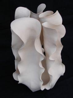 Astrid Dahl ceramics: photo by Nur Ercan, via Behance