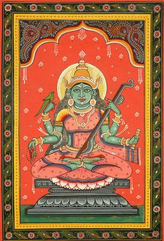 Matangi - The Outcaste Goddess (Ten Mahavidyas)