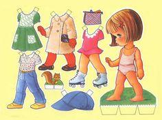 Muñecas recortables para niñas ~ cositasconmesh