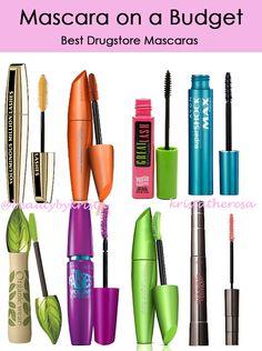 Mascara on a Budget! | Krista Theresa