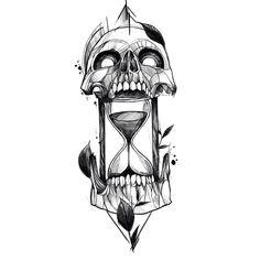 Learn more about tattoo styles and the work of Wescley - wescleyf (Tattoo artist). Skull Tattoo Design, Tattoo Design Drawings, Skull Tattoos, Tattoo Sketches, Body Art Tattoos, Sleeve Tattoos, Acab Tattoo, Dark Art Tattoo, Doodle Tattoo