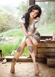 Inked Girls model Cara Mia #Inked #Girls #InkedGirls #model #tattooedgirls #tattoos #girl