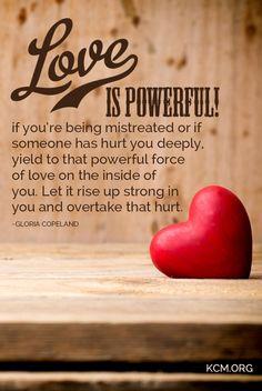 Love is powerful #KCM #Love
