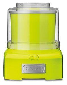 Lime Green Cuisinart ICE-21GBLK Frozen Yogurt-Ice Cream and Sorbet Maker