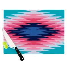 Love these patterned cutting boards!
