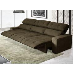 Conforto é com este #sofá aqui! Ainda por cima fica lindo com a decoração! #Sejogue #decoração #design #madeiramadeira