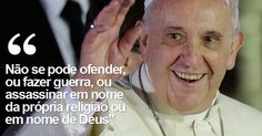 Liberdade de expressão não dá o direito de insultar o próximo, diz Papa