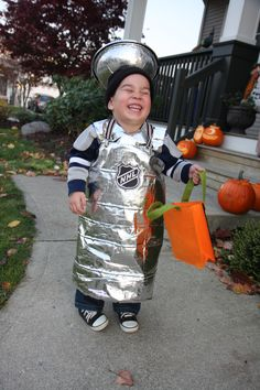 my future child in a Stanley Cup costume haha