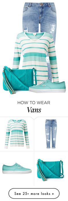 """""""Untitled #17663"""" by nanette-253 on Polyvore featuring Miss Selfridge, EAST and Vans"""