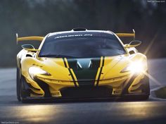 British supercar brand McLaren has released images of its track-dedicated GTR vehicle, which will debut at the Geneva Motor Show next month Carros Mclaren, Mclaren P1 Gtr, Mclaren Autos, Gt R, Lamborghini, Ferrari, Most Expensive Supercars, Expensive Cars, Lamborgini Veneno