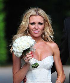 Abbey Clancys sexy wedding hairstyle