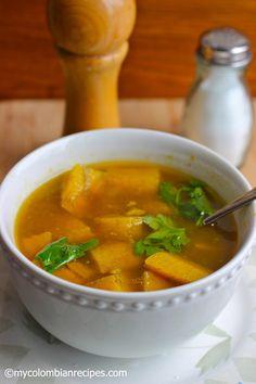 Sopa de Platano - plantain soup