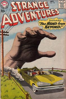 Strange Adventures | The hand from beyond