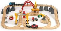 ⭐ [미국 아마존] 브리오 화물 열차 세트 33097, BRIO Cargo Railway Deluxe Set