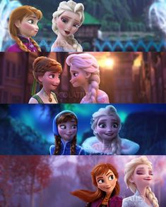 this one ain't a theory, just a simple collage of our beloved Arendelle sisters throughout the Frozen franchise❄️ Frozen Disney, Princesa Disney Frozen, Frozen Movie, Frozen Frozen, Elsa Frozen Fever, Arendelle Frozen, Frozen Elsa And Anna, Frozen Party, Disney Princess Pictures