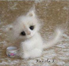 Вязаный крючком котенок амигуруми