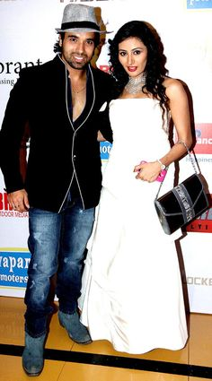Mohit and Urvashi at the screening of 'Riddick' #Fashion #Style