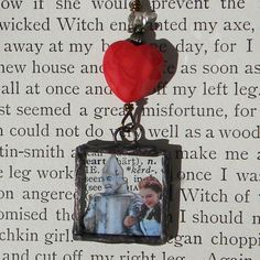 Necklace ........ Wizard of OZ .......... IF I Only Had A HEART