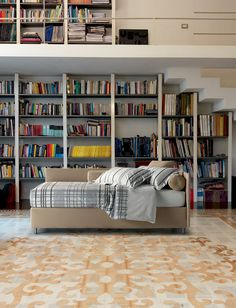 FORCE 217M by Oggioni #bedroom #books @OGGIONI STORAGE BEDS