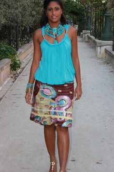 Short stylish skirt