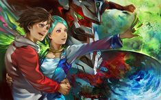 Eureka seven by ~k-BOSE on deviantART