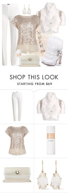 """""""#264"""" by moondawn ❤ liked on Polyvore featuring Basler, Matthew Williamson, 10 Crosby Derek Lam, Elie Saab and Alexis Bittar"""