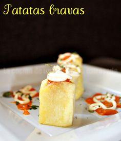 Patatas bravas recipe. Receta de patatas bravas.