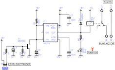 water pump guard schematic