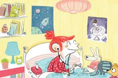 Cromic le Microbe | Jess Pauwels Illustrations