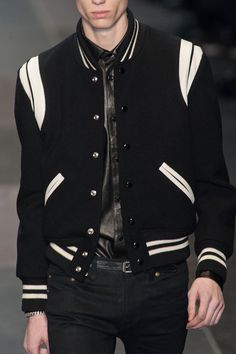 Saint Laurent varsity jacket