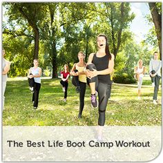Bob Greene creates a boot camp workout you can do in your own living room.