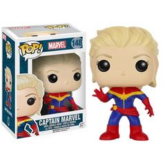 Marvel Pop! Vinyl Figure Unmasked Captain Marvel