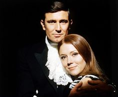 George Lazenby is James Bond and Diana Rigg as Tracy Di Vicenzo in ON HER MAJESTY'S SECRET SERVICE (1969).
