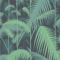 Papier peint tropical vert Palm Jungle de Cole and Son