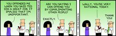 Dilbert comic strip for 07/11/2011 from the official Dilbert comic strips archive.