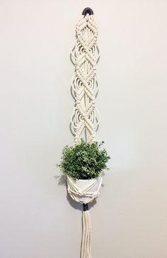 """Macramé Plant Hanger-""""Donna"""""""