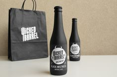 Stefan Andries - Wicked Barrel Brewery packaging design blog World Packaging Design Society│Home of Packaging Design│Branding│Brand Design│CPG Design│FMCG Design