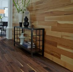 You've seen wood make a lasting impact on the floor – how about on the walls and ceilings? Add character & texture to any space with a decorative wood accent wall!   2015 Fall Flooring Trends