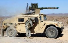 army TOW missile weapons platform.