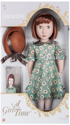 Clementine Your 1940s Girl™ now available for shipping, just in time for #Christmas - visit us on www.AGirlForAllTime.com  #toys #dolls