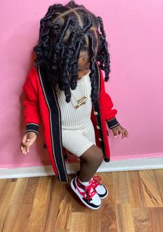 Little Girl Swag, Cute Little Girls Outfits, Cute Kids, Cute Babies, Cute Baby Videos, Mom And Dad, Girl Hairstyles, Dads, Dreadlocks