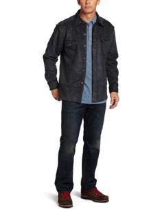 True Grit Men's Pebble Sueded Button Jacket